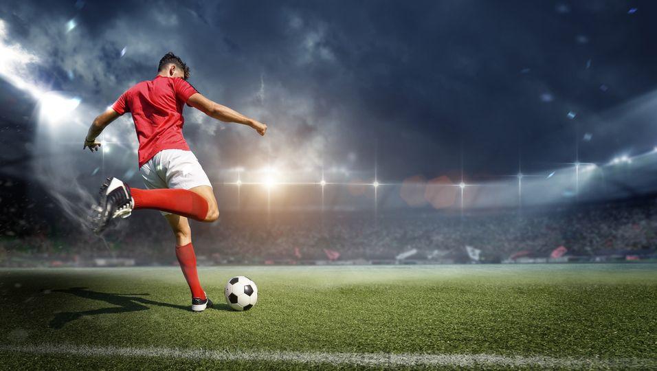 Profi-Fußballer, Kalorienverbrauche