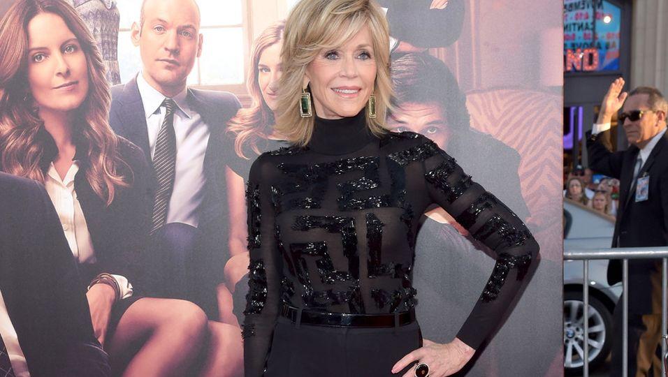 Jane Fonda | Rollkragenpullover einmal anders