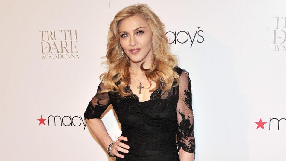 Madonna - Als Fitnesscoach in Berlin