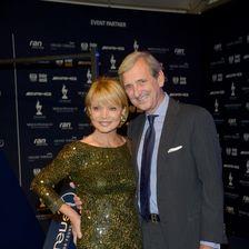 2013 besuchten Uschi Glas und Dieter Herrmann gemeinsam den Laureus Media Awards in Kitzbühel.