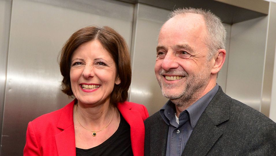 Malu Dreyer mit Ehemann Klaus Jensen