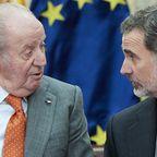 Juan Carlos von Spanien und Felipe von Spanien