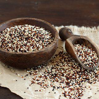 Quinoa-verstreut