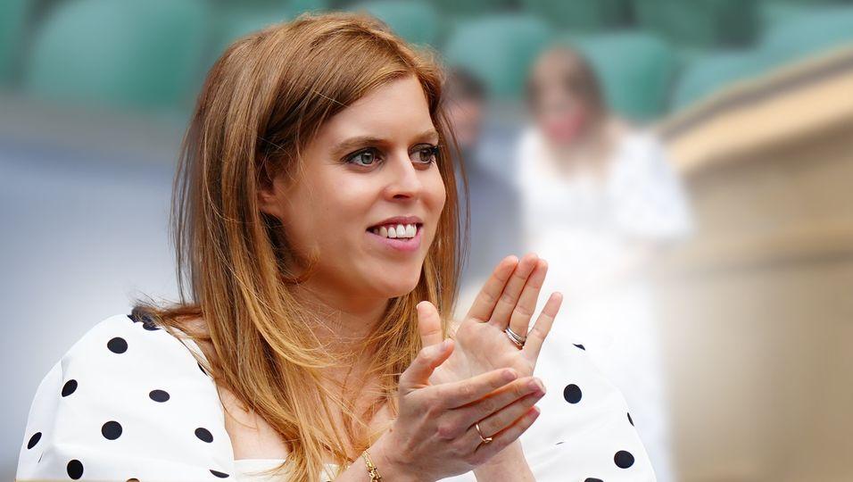 Sie wächst & gedeiht: In Wimbledon zeigt sie ihre süße Babykugel