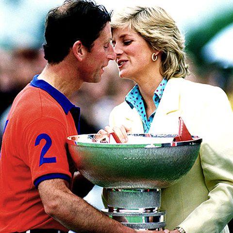 Es kriselt: 1987 trifft sich das einstige Traumpaar nur noch zu gesellschaftlichen Anlässen, wie hier dem Constantine Polo-Cup.