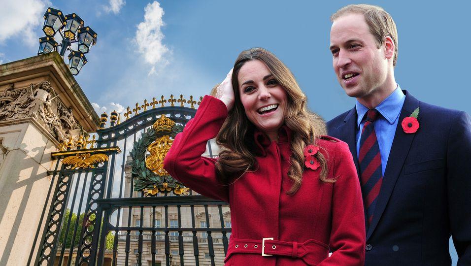 Blick durchs Schlüsselloch: So leben sie im Kensington Palast