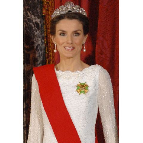 Letizia von Spanien Tiara