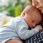 Mama mit Baby