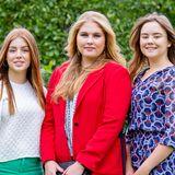 Amalia, Alexia und Ariane der Niederlande