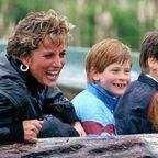 Prinzessin Diana, Harry und William