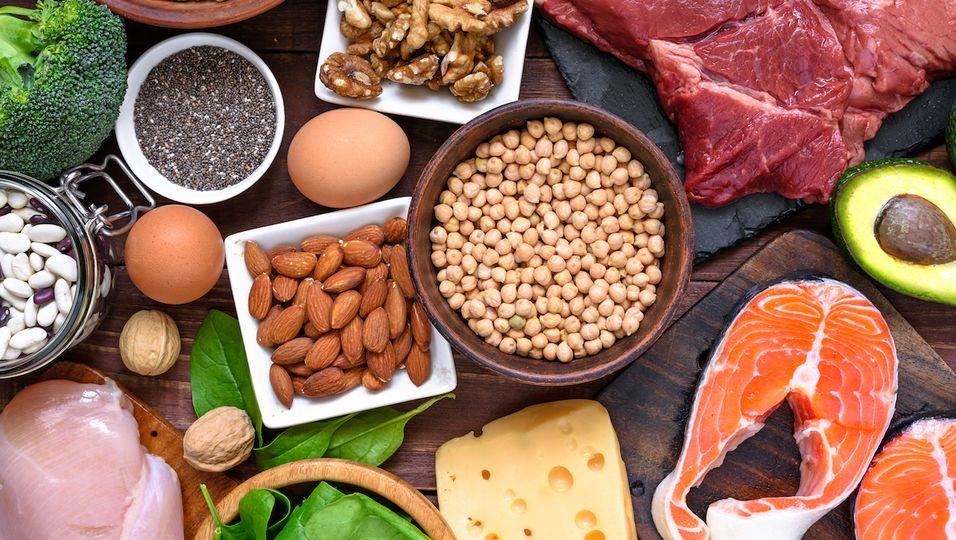 Proteinreiche Lebensmittel