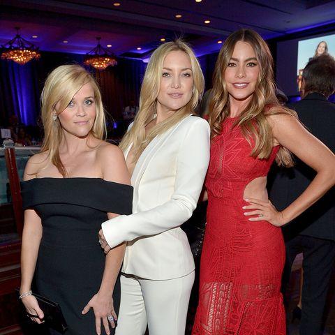 Schönes Trio: Reese Witherspoon, Kate Hudson  und Sofia Vergara.