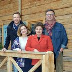 Der Bergdoktor Cast Heiko Ruprecht, Ronja Forcher, Monika Baumgartner und Hans Sigl