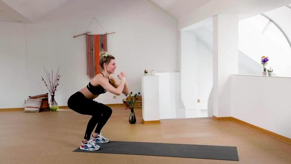 Booty-Workout in 7 Minuten- Intensives Po-Training mit LeaLight