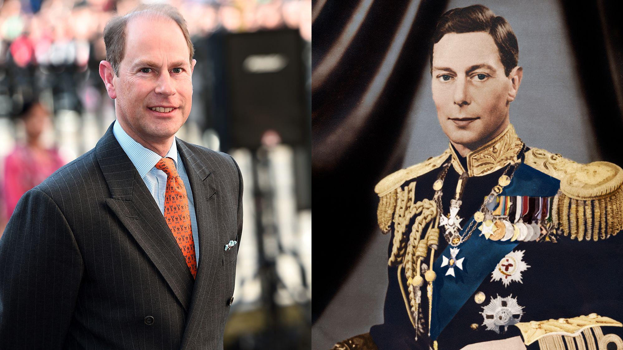 Edward und König Georg VI
