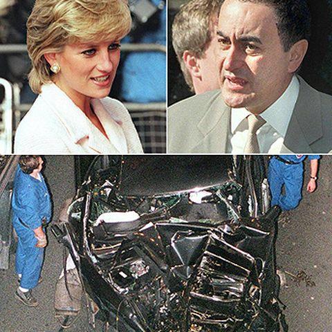 Nach der Scheidung 1996 ist Diana mit Dodi Al Fayed zusammen. Die beiden verunglücken ein Jahr späer bei einem Autounfall in Paris.