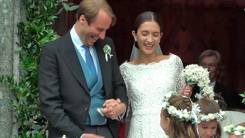Konstantin von Bayern heiratet – doch in der Kirche ging was schief