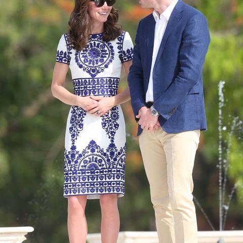 Herzogin Kate und Prinz William, Taj Mahal