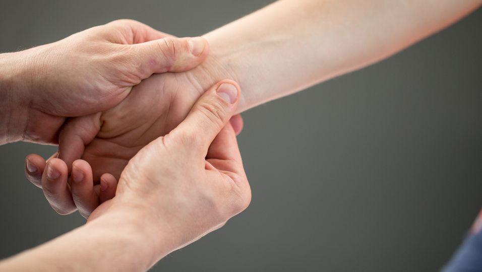 Akupressur Hand Schmerzen