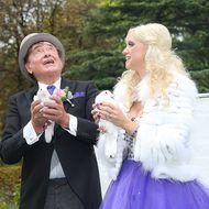 Cathy und Richard Lugner bei ihrer Hochzeit im September 2014 in Wien