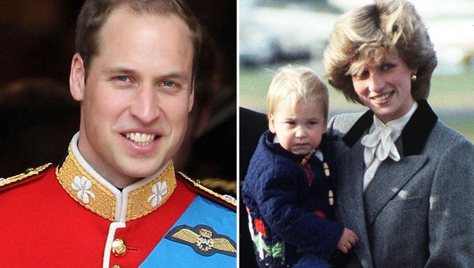 Prince William, diana