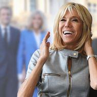 Brigitte Macron: Händchen halten und körperliche Nähe: Sie gibt Emmanuel Sicherheit