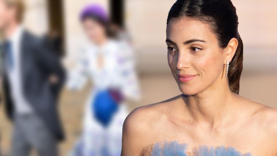 Wunderschöner Hochzeitsgast: Die Prinzessin zeigt ihre Modelmaße