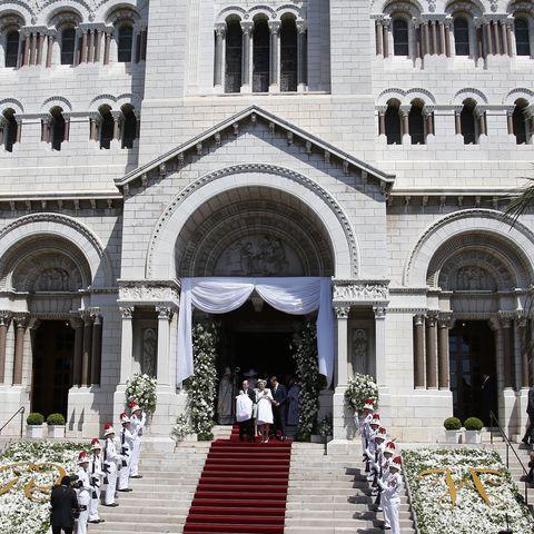 Taufe von Jacques und Gabriella von Monaco