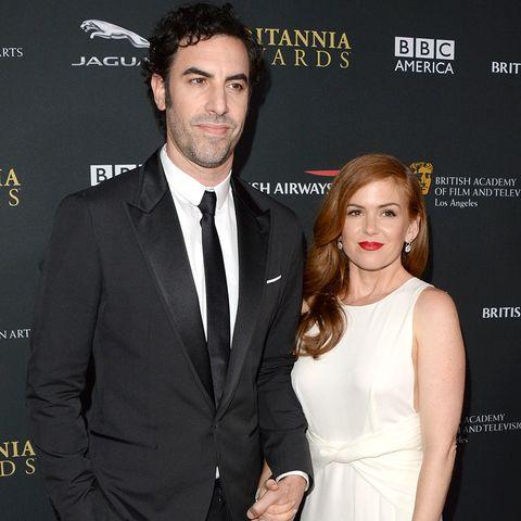 """Sie erwarten Nachwuchs: der süße """"Shopaholic""""-Star Isla Fisher und Exzentrik-Comedian Sacha Baron Cohen"""