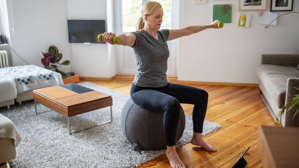 Home Workout kleine Wohnung