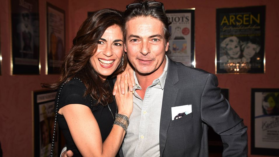 Pascal Breuer und seine Frau Loredana