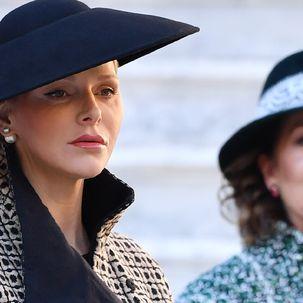 Charlene und Caroline von Monaco