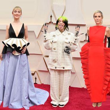 Oscars Billie Eilish Kirsten Wiig Saorse Ronan
