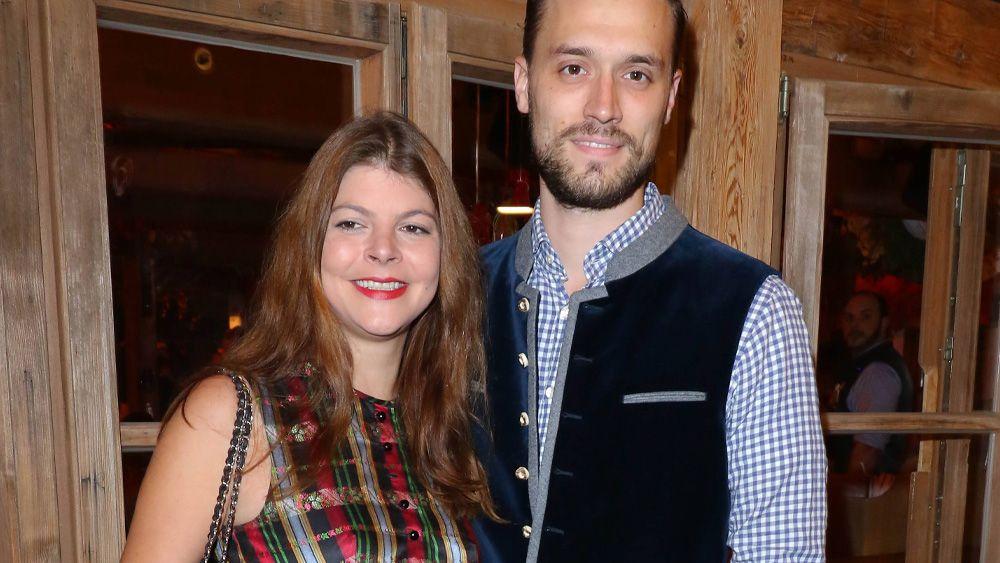 Julia Tewaag und ihr Mann Tobias Frank