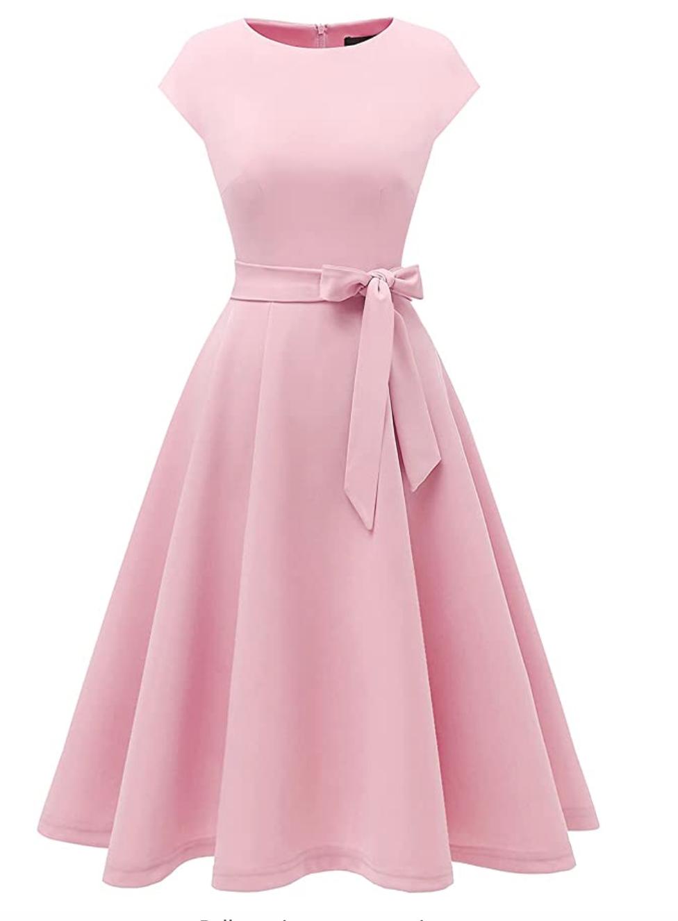 Rosa Amazon Kleid_Herzogin Kate