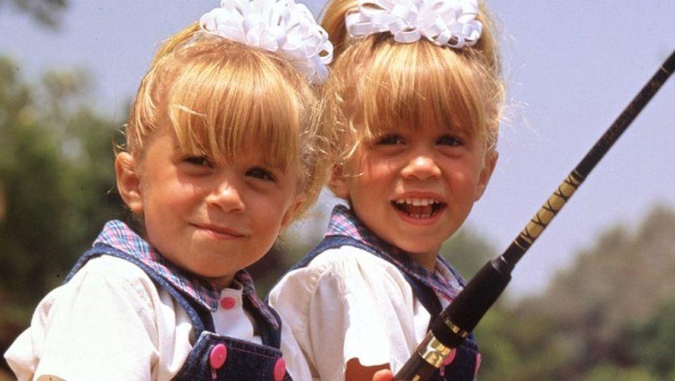 Nie gezeigtes Video: So süß waren die Zwillinge früher