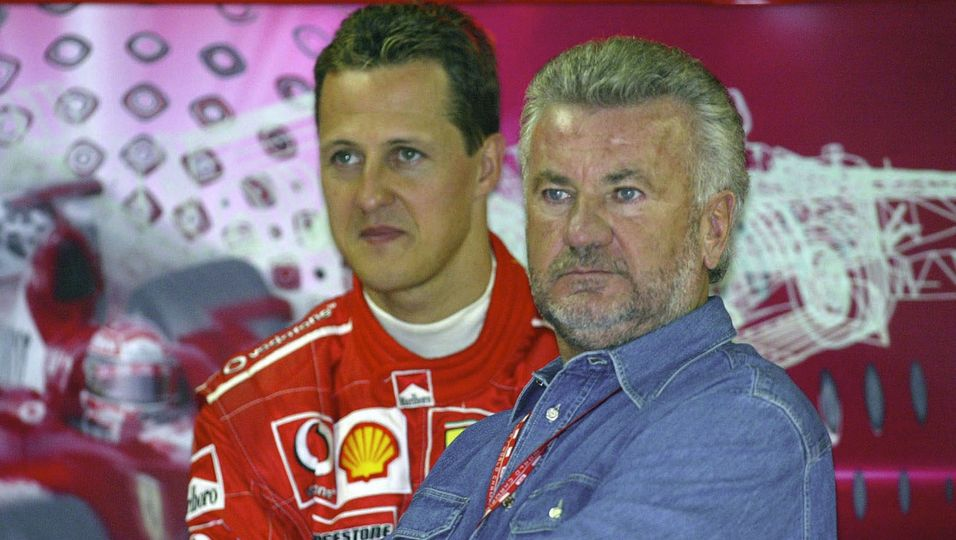 Michael Schumacher & Willi Weber