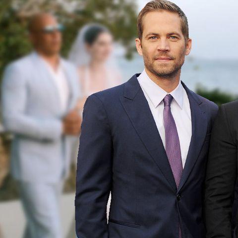 Paul Walker - Rührende Szenen – Vin Diesel führt seine Tochter zum Altar