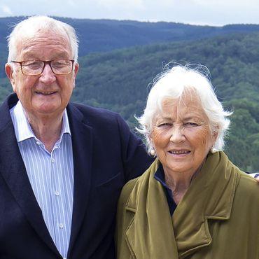 Paola und Albert von Belgien