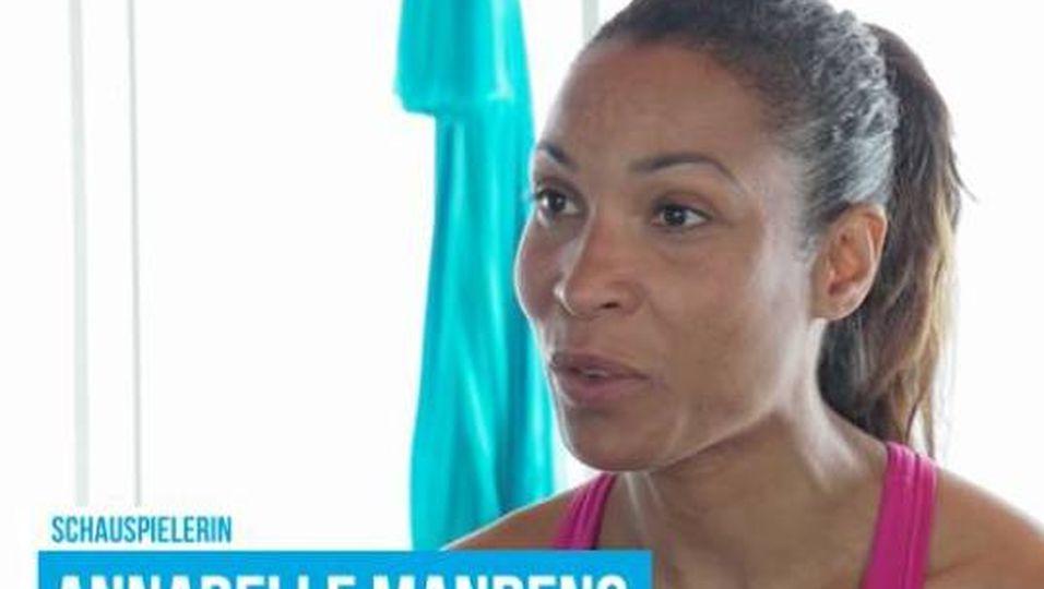 """Annabelle Mandeng: """"Trainieren mit Blick aufs Meer"""""""