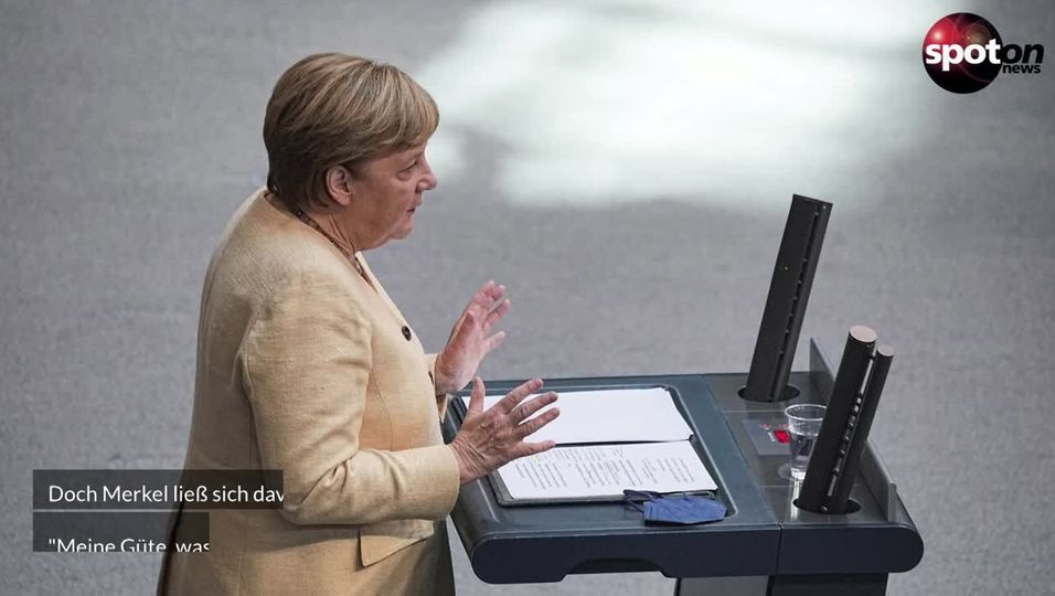 Angela Merkel spricht sich für Armin Laschet als Bundeskanzler aus