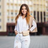 weiße Kleidung