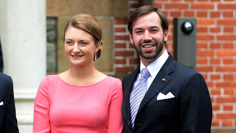Stéphanie & Guillaume von Luxemburg