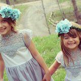 Blumenkinder bei Hochzeit