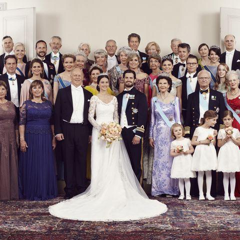 Sofia und Carl Philip, offizielles Hochzeitsfoto