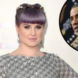 Barack Obama - Der Präsident ließ Kelly Osbourne nicht nach Hause