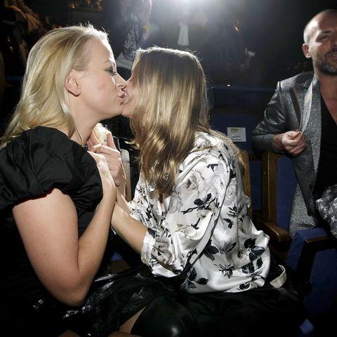 Gute Freundinnen: TV-Star Nadeshda Brennicke und Jenny Elvers.