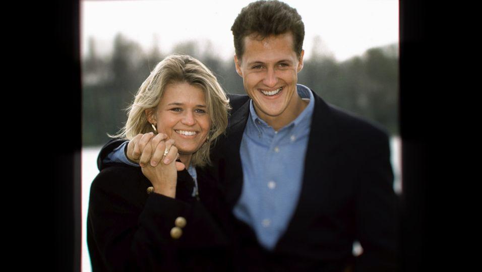 Corinna und Michael Schumacher.