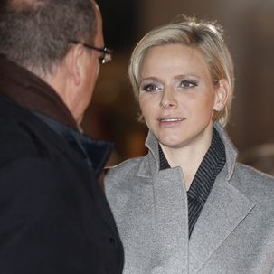 Albert und Charlene von Monaco