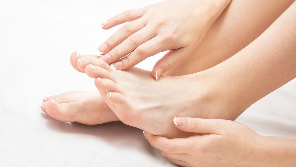 Füße und Hände